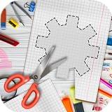 Papercut Adventurous App - Illustration Cutting Game