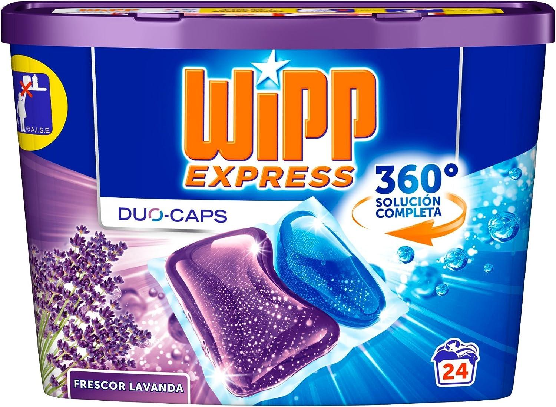 Wipp Express Detergente en Cápsulas Lavanda para Lavadora - 24 ...