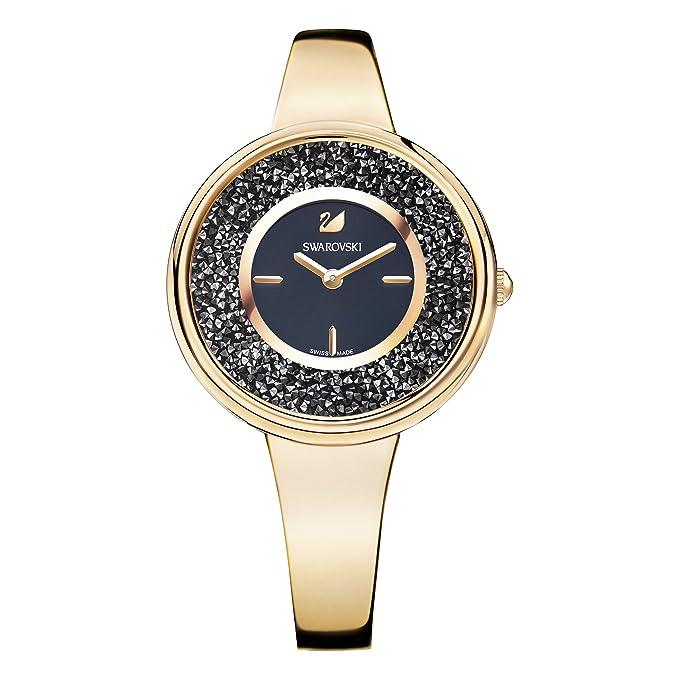 Swarovski Reloj Crystalline Pure, tono oro rosahttps://amzn.to/2MiD93q