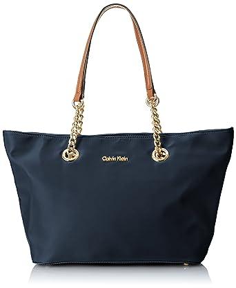 Amazon.com  Calvin Klein Nylon Zipper Tote 7ea409cb1af