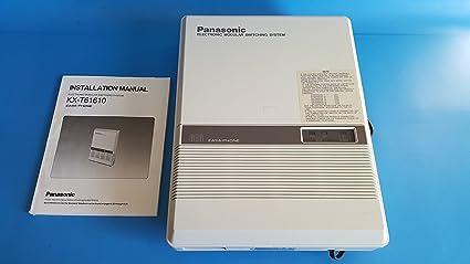 amazon com panasonic 616 easa phone ksu kx t61610 pbx rh amazon com panasonic pbx 206 manual panasonic pbx ns500 manual