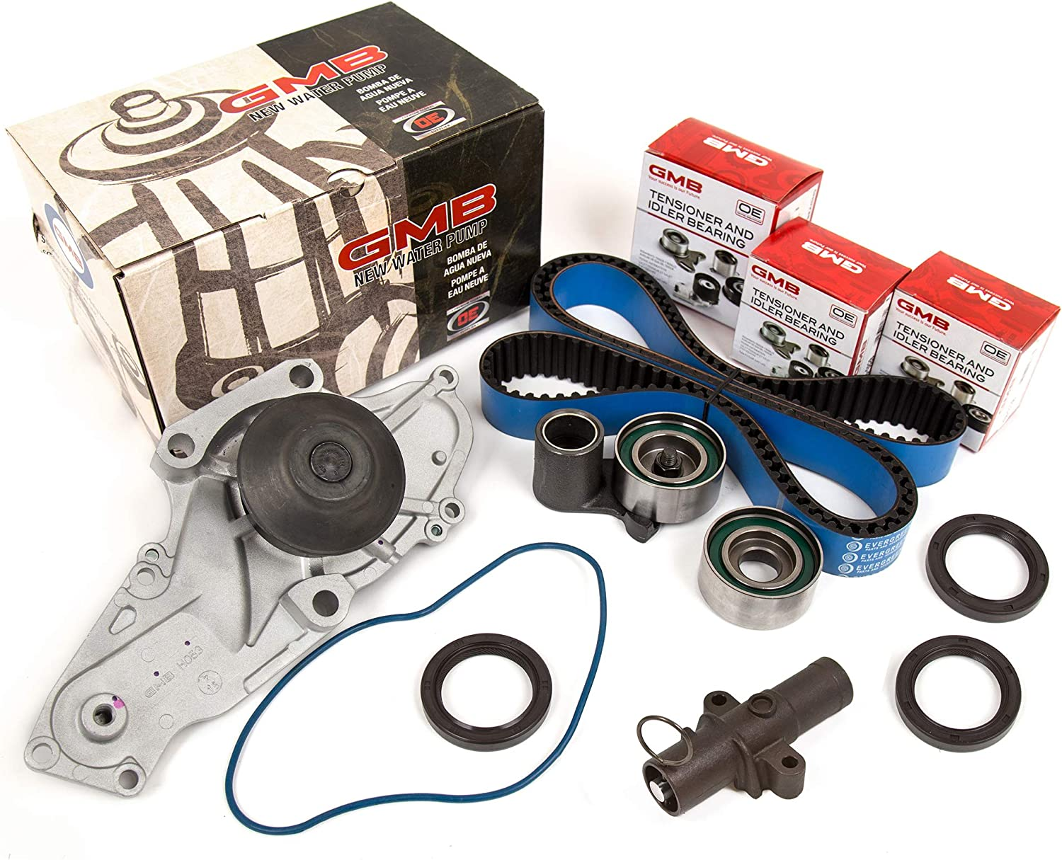 Timing Belt Kit GMB Water Pump Valve Cover Gasket Fit Acura Honda J32A J35A