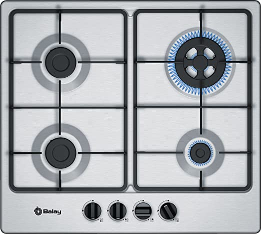 Balay 3ETX565TB hobs Acero inoxidable Integrado Encimera de gas ...