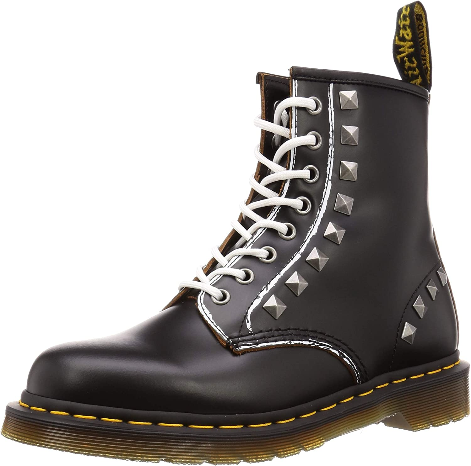 DR. MARTENS 1460 Tartan Red Anfibios Mujer