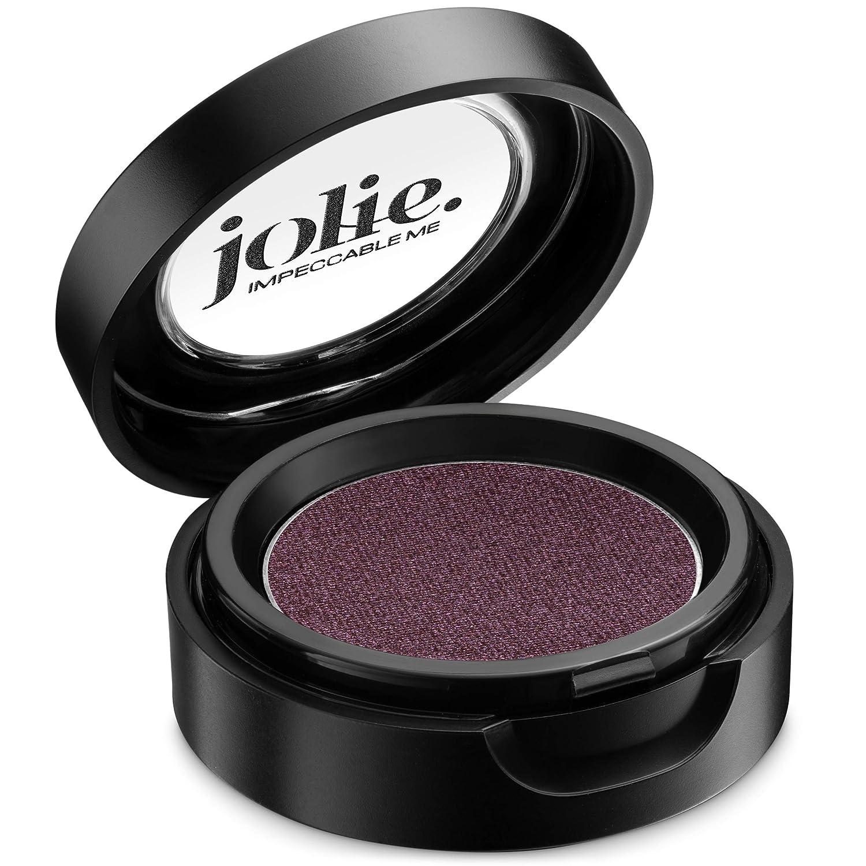 Jolie Cosmetics Powder Pressed Eyeshadows Metallic, Pearl Shimmer – Cruelty Free, Vegan, Single Pan Eyeshadow 1.48g Pinks & Reds (Wisteria)
