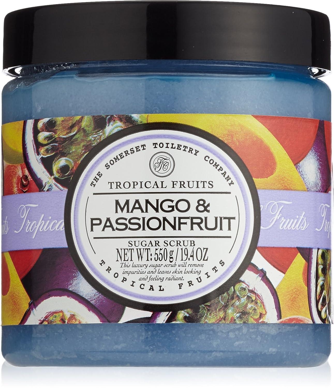 Frutti tropicali Mango e Passionfruit Zucchero Scrub 550 g The Somerset Toiletry Company 92330