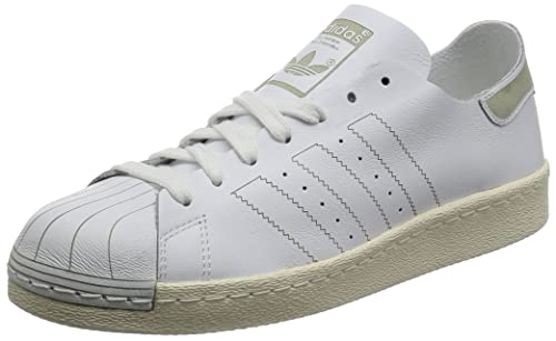 official photos 2d30b 8952d adidas Superstar 80s Decon Scarpe da Ginnastica Basse Uomo, Bianco Footwear  Vintage White, 44