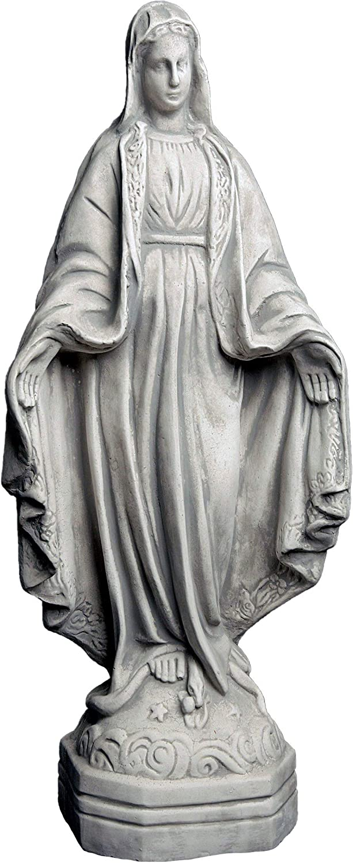 Madonna Heilige Steinfigur H 85