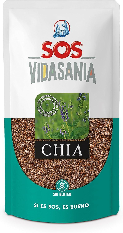 SOS Vidasania Chia 200G - [Pack De 12] - Total 2400 Gr: Amazon.es ...