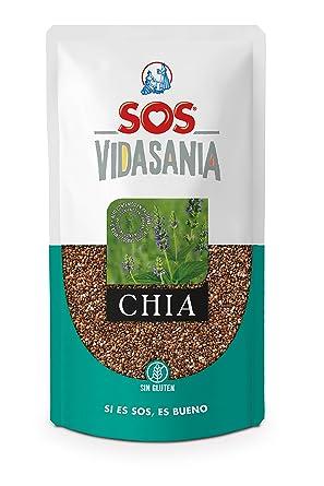 SOS Vidasania Chia 200G - [Pack De 12] - Total 2400 Gr