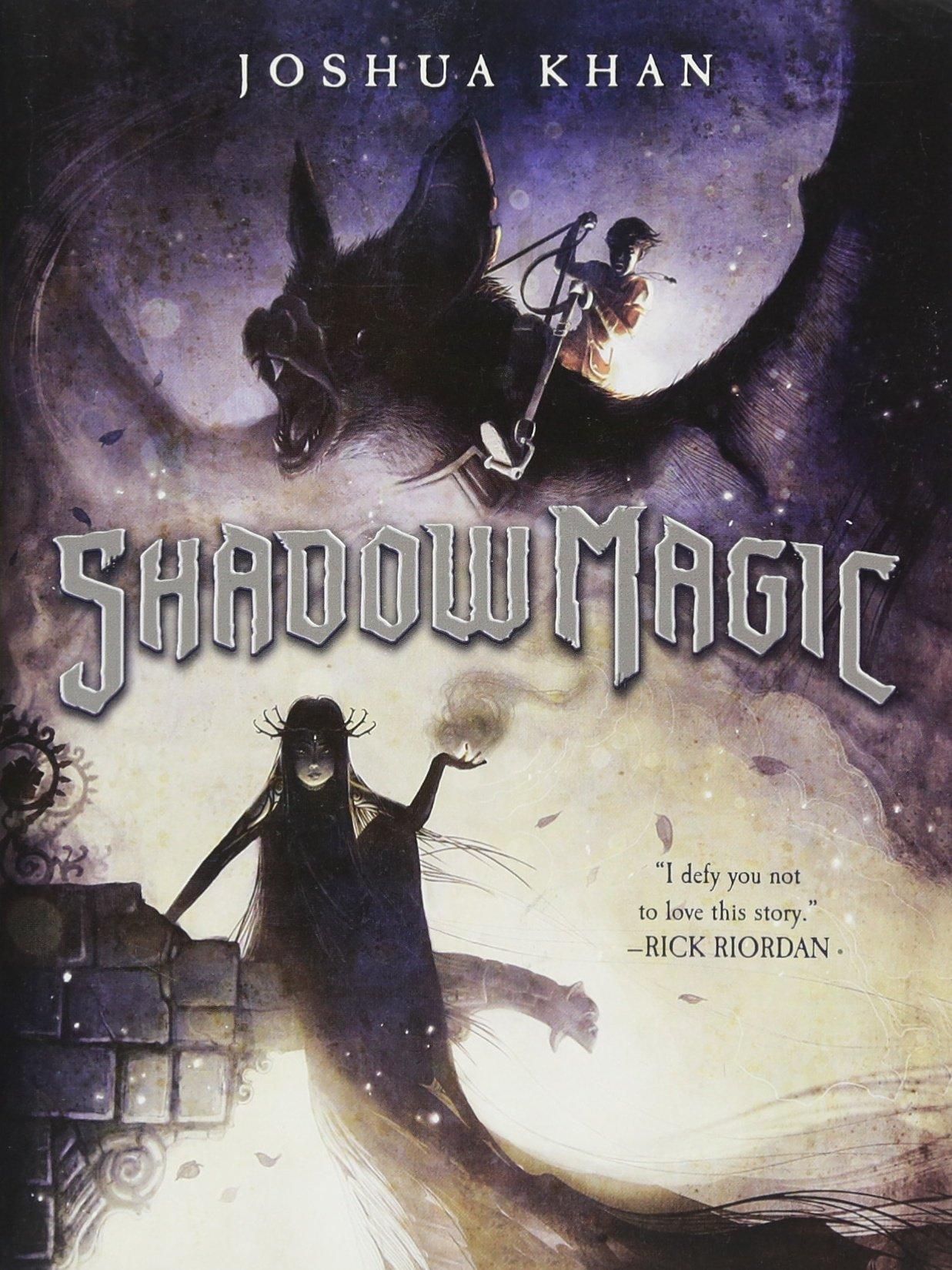 Book cover of Shadow Magic by Joshua Khan