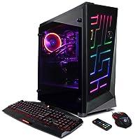 CYBERPOWERPC Gamer Xtreme Liquid Cool GLC5402OPT PC (Intel i7+ 8700K 3.7GHz, 16GB DDR4, NVIDIA GeForce GTX 1080 Ti 11GB, 1TB HDD+16GB Optane Memory, WiFi & Win10 Home)