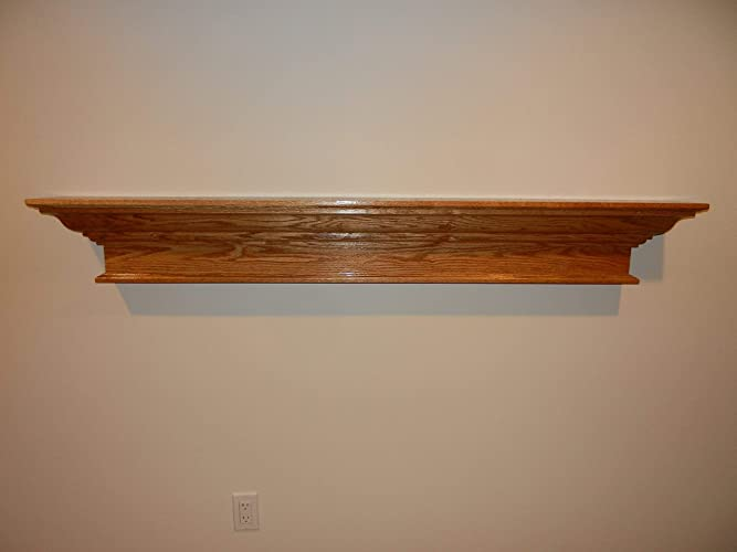 Superb Red Oak Contemporary Wood Floating Shelf Fireplace Mantel Mantle 48 60 72 Or 84 Home Interior And Landscaping Ologienasavecom