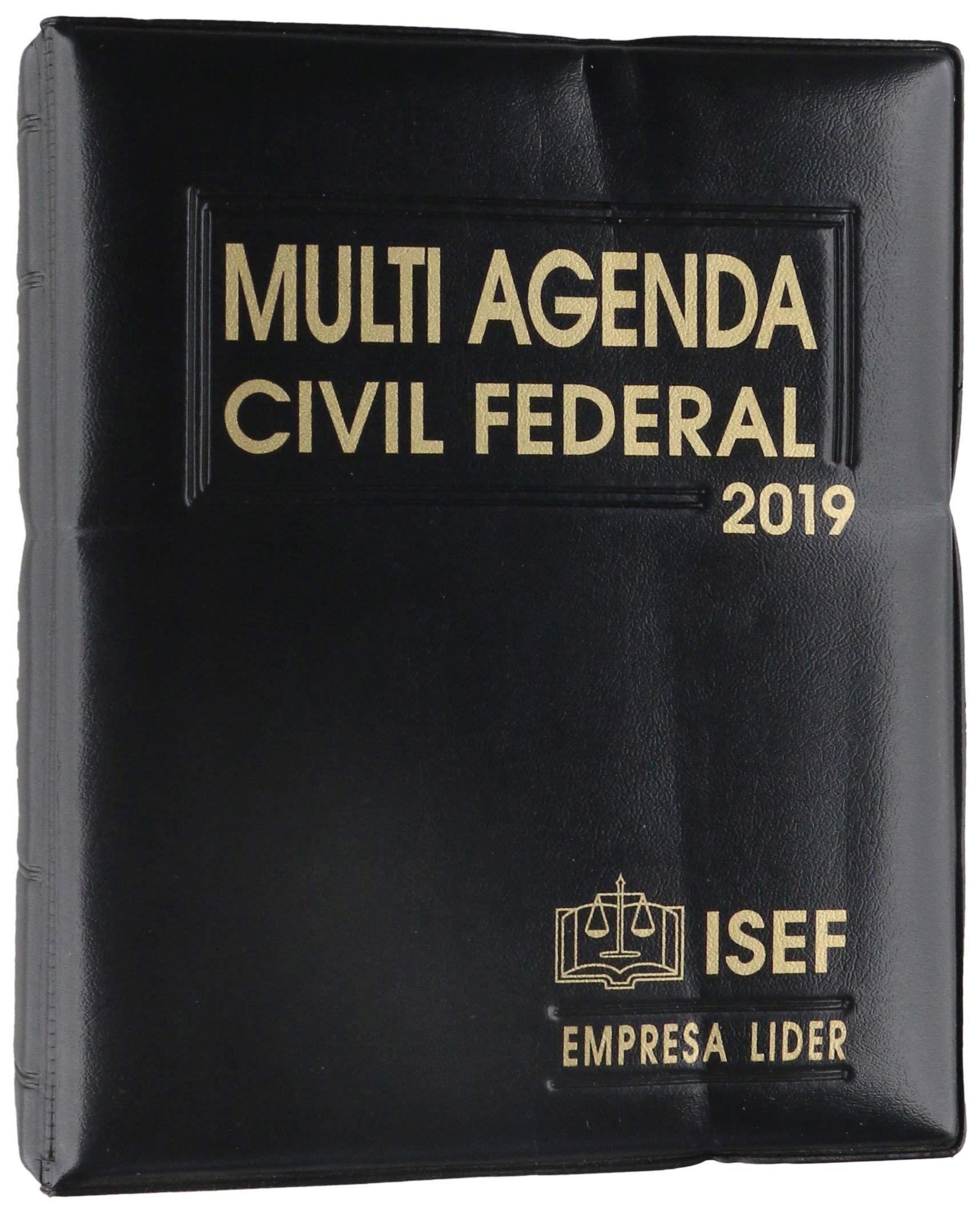 MULTI AGENDA CIVIL FEDERAL 2019: EDICIONES FISCALES ISEF ...