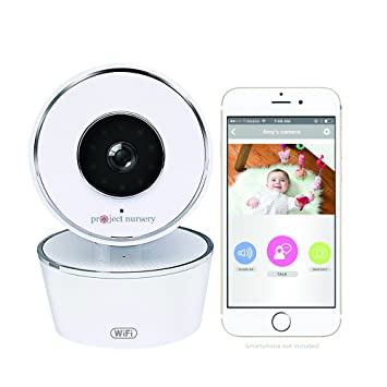 be9ba43442e33 Amazon.com   Smart Baby Monitor - Alexa Enabled and Google Assistant  Enabled with WiFi - Now able to View on Echo Show