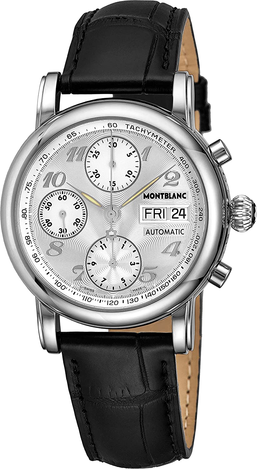 50a067ad23a Amazon.com: Montblanc Star Chronograph Automatic Mens Watch 8452: Star:  Watches