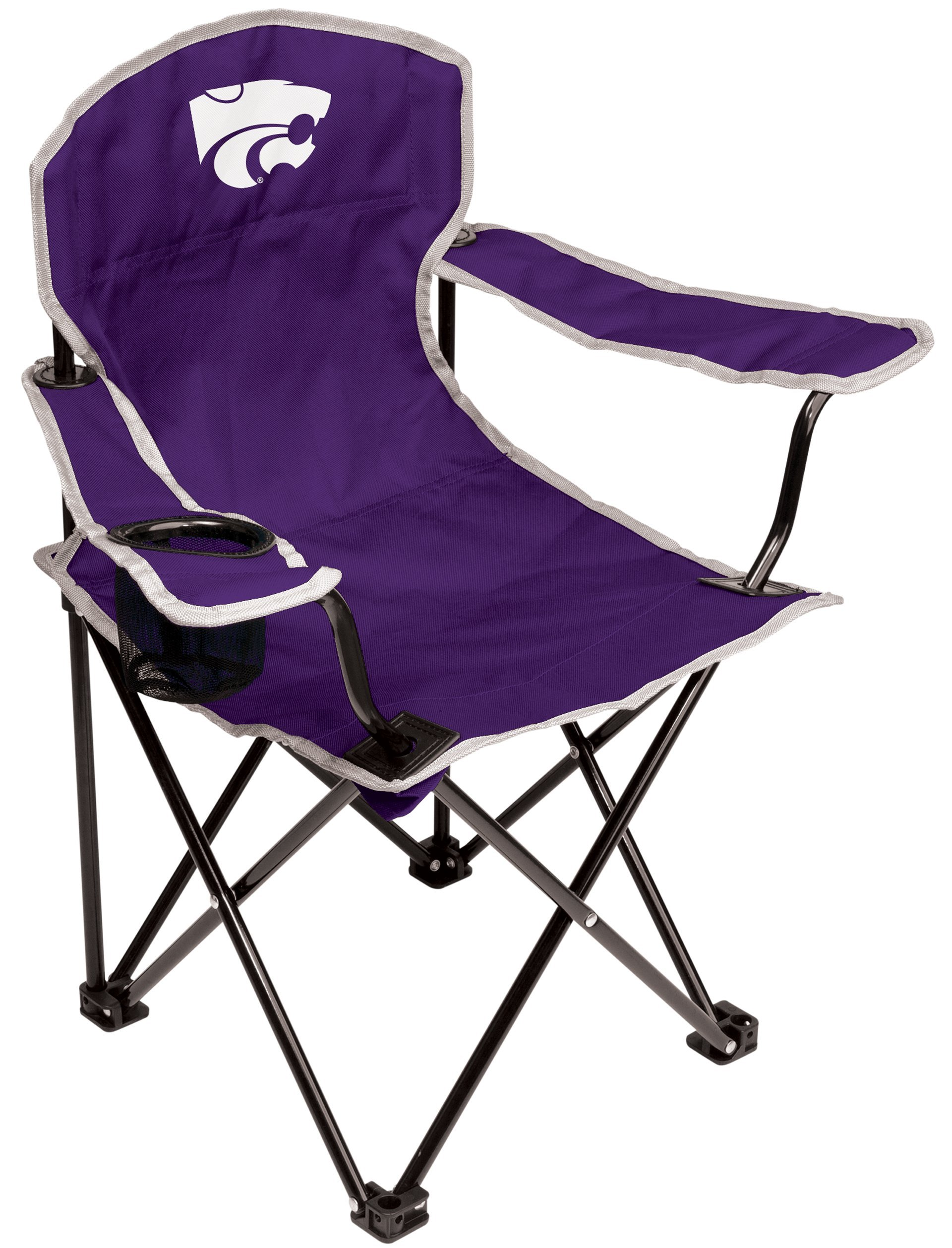 NCAA Kansas State Wildcats Youth Folding Chair, Purple