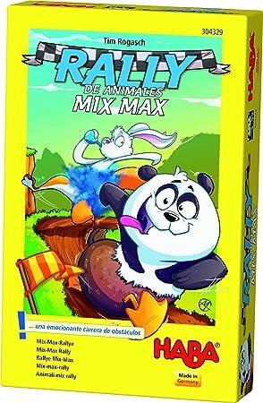 HABA- Juego de Mesa, Rally de Animales Mix MAX, Multicolor ...