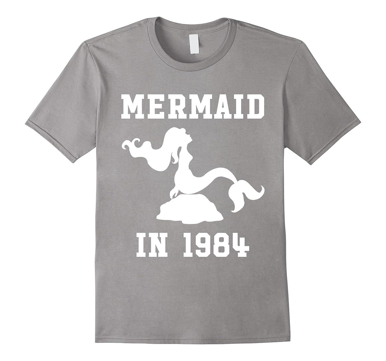 Made In 1984 – Mermaid Birthday T-shirt-Samdetee