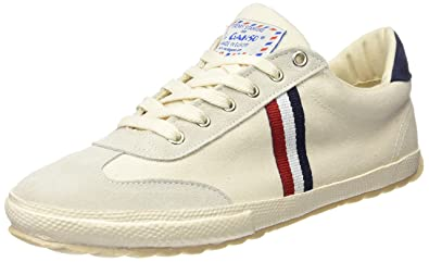 ca9958c3482808 El Ganso Unisex Adults' Match Canvas Ribbon Fitness Shoes, (White Único),