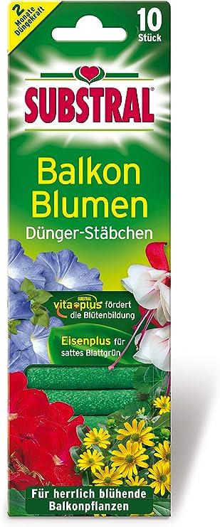 Substral Dünger-Stäbchen für Blühpflanzen mit Eisen-Plus und 2 60 stück