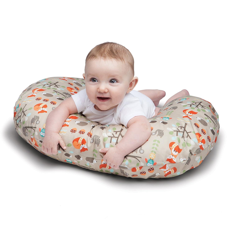 Boutique Gray Chevron Boppy Pillow Slipcover