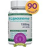 Lipozene Green Diet Pills - All Natural Weight Loss Supplement - Appetite Suppressant and Control - 90 Veggie Capsules - No Stimulants, No Jitters