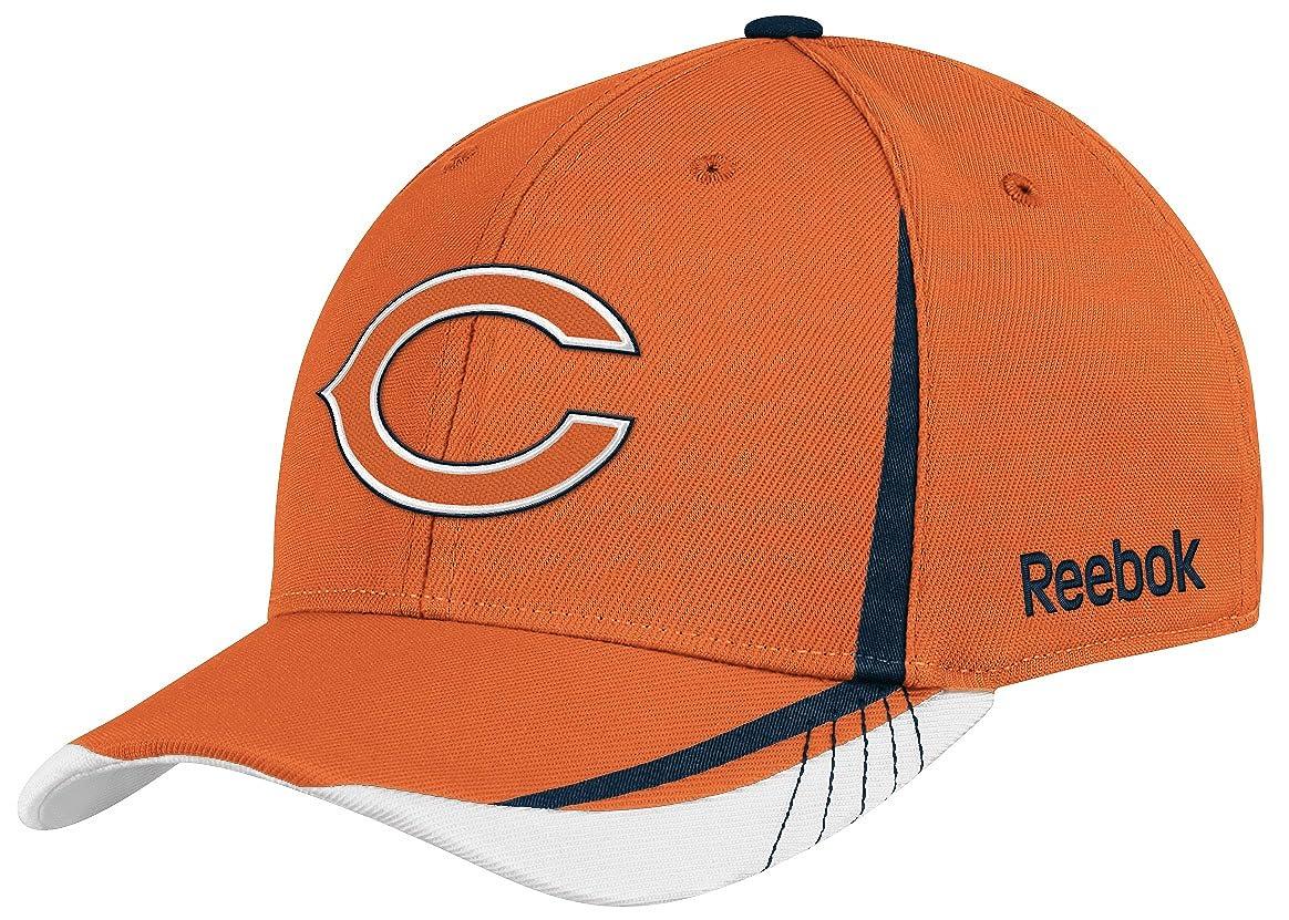 d160e454cae Amazon.com   NFL Chicago Bears Sideline Flex-Fit Draft Hat
