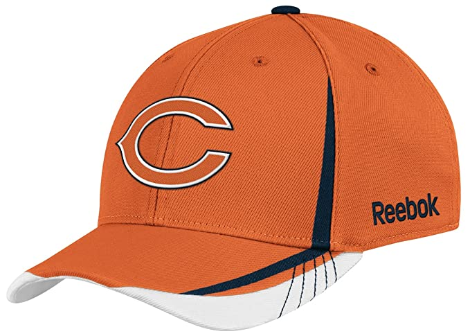 Amazon.com   NFL Chicago Bears Sideline Flex-Fit Draft Hat a7588309dbc