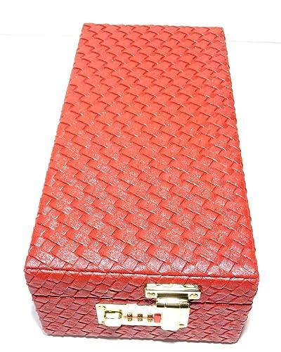 Buy Girija Red Jewelry Storage Box locker box 12x 6x 4 Online at
