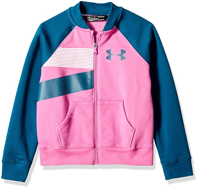 dcf77282634 Amazon.com: Under Armour Girls Rival Bomber: Clothing