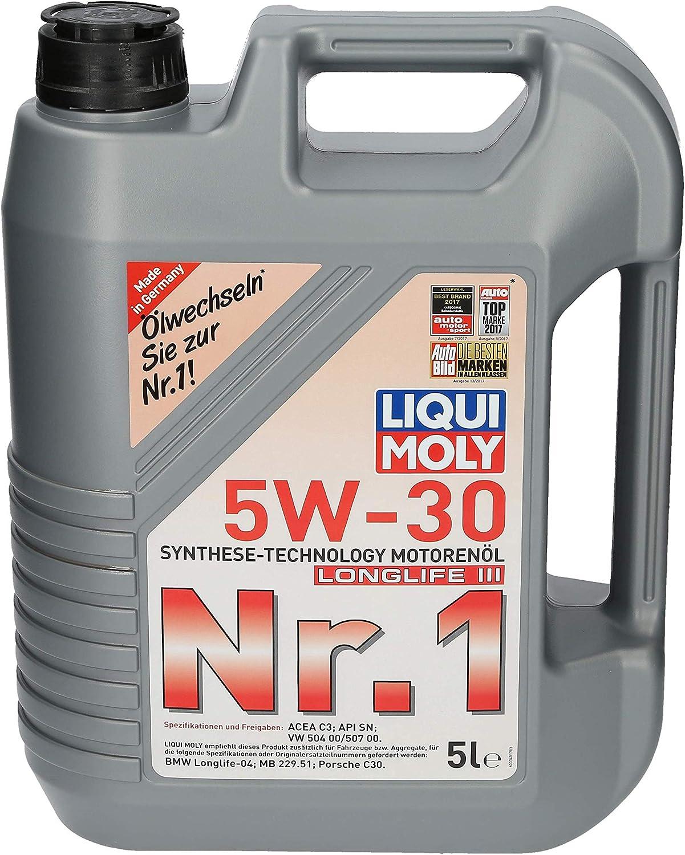 5 L Liter Liqui Moly Nr 1 MotorenÖl 5w 30 Nummer 1 Motor Öl Motoren Öl 31914953 Auto