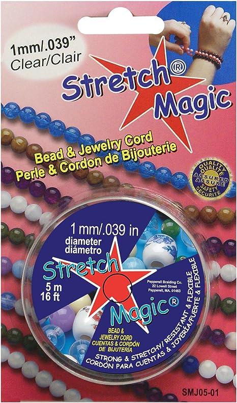Stretch Magic Bead /& Jewelry Cord 1mmX100m-Clear