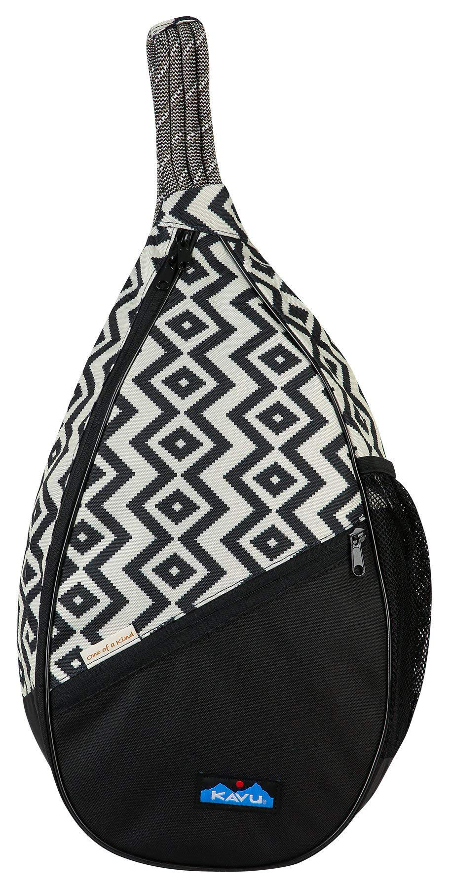 KAVU Paxton Pack Backpack Rope Sling Bag - BW Textile