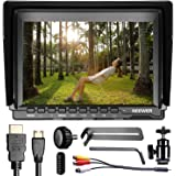 Neewer NW759 7Inch 1280x800 IPS Screen Camera Field Monitor with 1 Mini HDMI Cable for BMPCC,AV Cable for FPV, for Sony Canon Nikon Olympus Pentax(Power Supply and Battery Not Included)