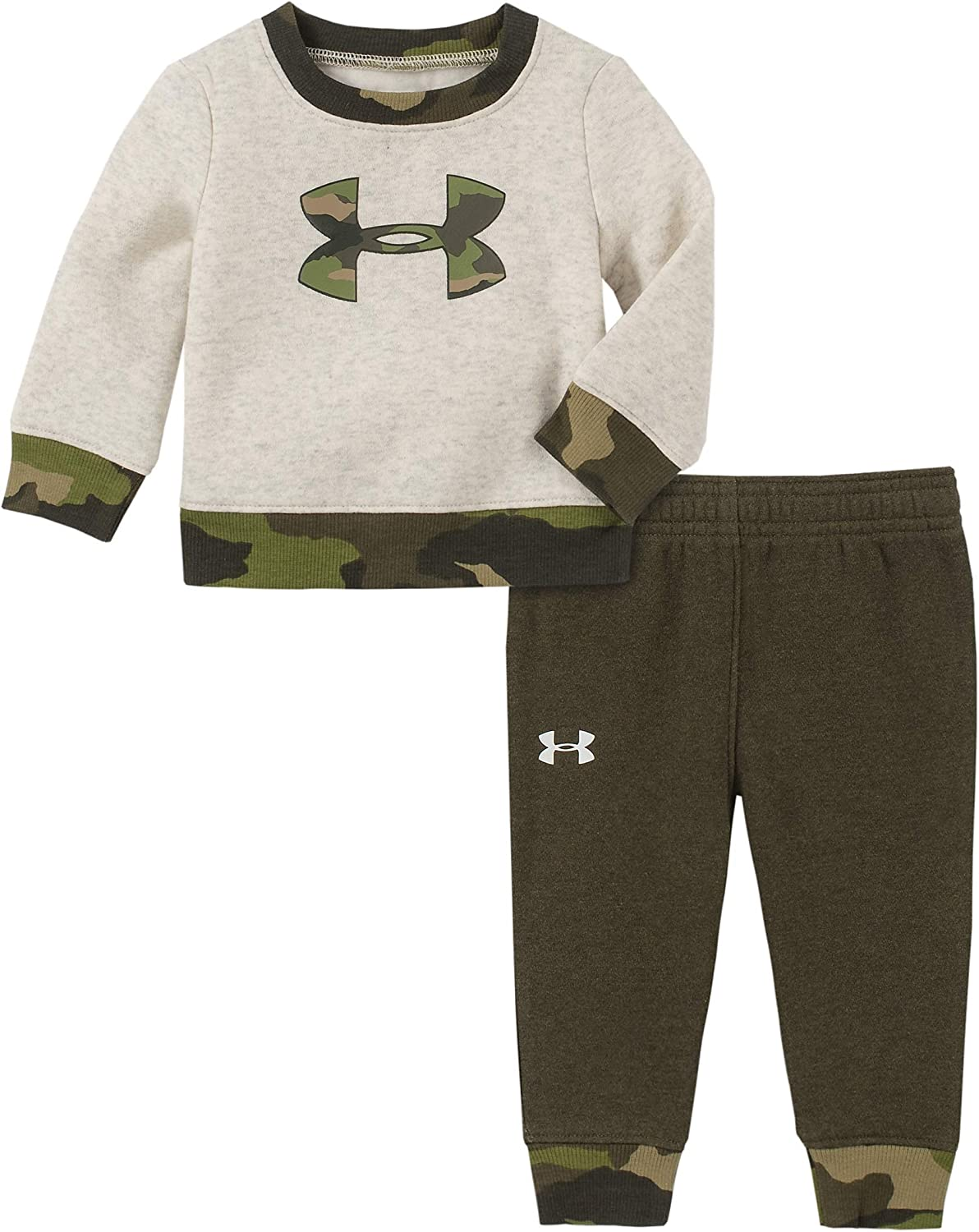 Under Armour Baby Boys Hit Waffle Long Sleeve Set Layette