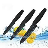 3 Couteaux en Céramique Haut de Gamme Professionnel Avec étui de Protection
