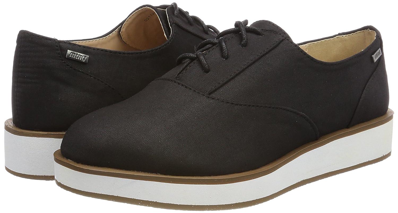 MTNG Newcamelia, Zapatos de Cordones Oxford para Mujer, Negro, 38 EU