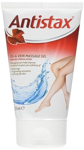 Antistax Leg & Vein Massage Gel, 125mls