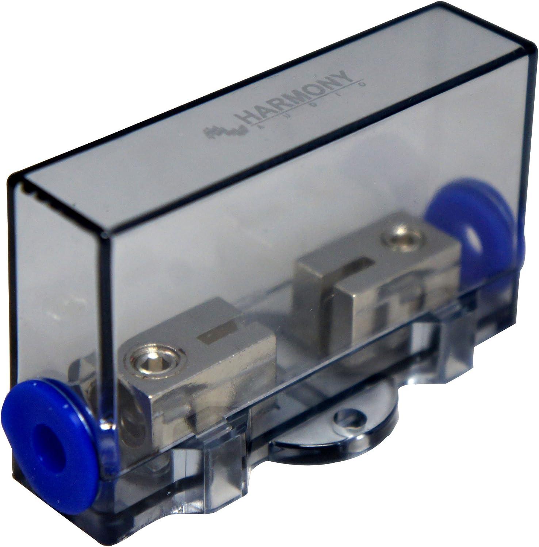 Harmony Audio HA-MIDIFH Car Marine Stereo Mini ANL MIDI Fuseholder 4-8 Gauge Power Wire