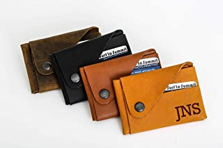 product image for Personalized Leather Wallet, Personalized wallet, Personalized Wallet For Men, Personalized Monogrammed Genuine Leather Mens Wallet Father's Day Limited Edition, Customized Genuine Leather