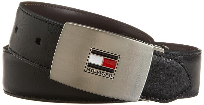 10e5e98fbfa4 Image Unavailable. Image not available for. Colour  Tommy Hilfiger Men s  Reversible Interchangeable Buckle Belt ...