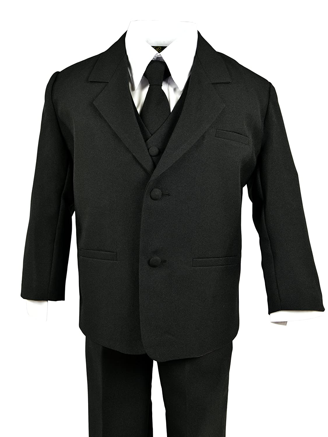 cce9278aa Amazon.com  Spring Notion Baby Boys  Formal Black Dress Suit Set  Clothing