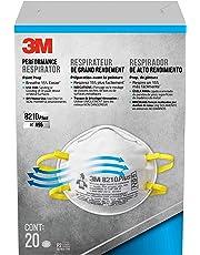 3M Disposable Respirators, Advanced Filter, Paint Prep, 20 Masks (N95)