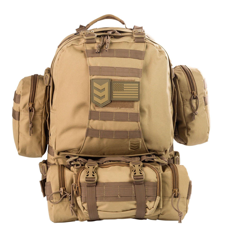 98b061c524de Amazon.com   3V Gear Paratus 3-Day Operator s Tactical Backpack ...