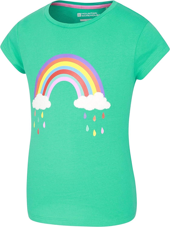 Mountain Warehouse Awesome Boucle Rainbow Camiseta Infantil - Camiseta 100% algodón, Ligera, Transpirable, Corte Holgado para niños y niñas - Ideal para pasear en Verano: Amazon.es: Ropa y accesorios