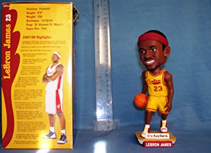 9bbb9ea6e3f 2008 LEBRON JAMES QUICKEN LOANS ARENA BOBBLEHEAD SGA CAVALIERS MINT IN BOX