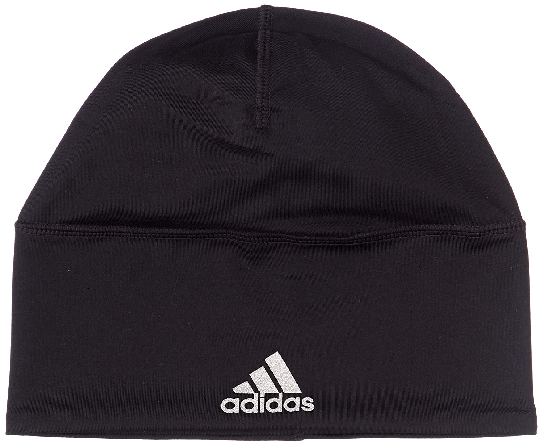 1af811e8145 Adidas BR0796 Climalite Loose Beanie - Black Black Reflective Silver Black