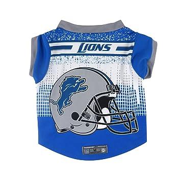 NFL Detroit Lions mascota rendimiento camiseta, tamaño mediano: Amazon.es: Deportes y aire libre