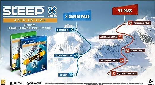 Steep: X Games - Gold Edition: Amazon.es: Videojuegos